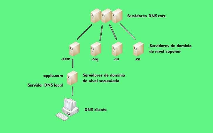 jerarquia DNS