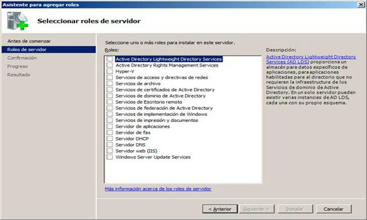 servicios de windows server 2008 r2