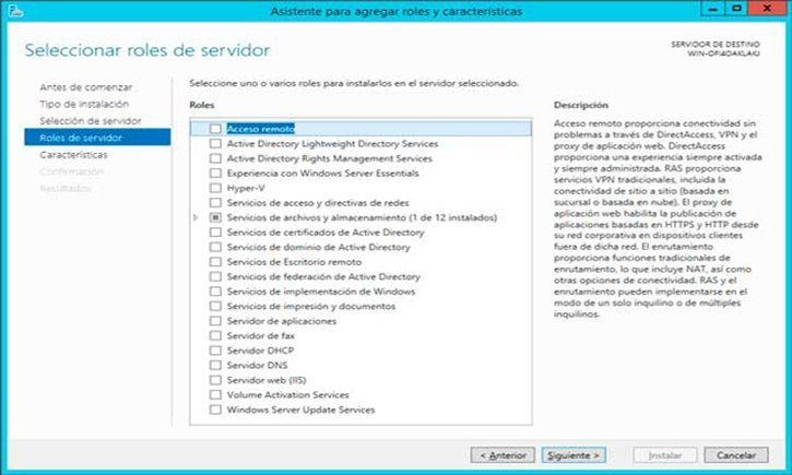 servicios de windows server 2012 r2