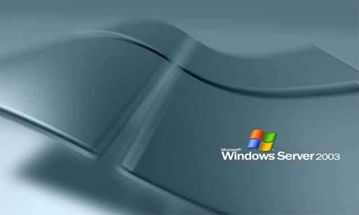 Sistema operativo Windows Server 2003